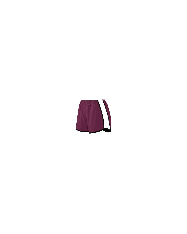 1265 Augusta Sportswear MAROON/ WHT/ BLK