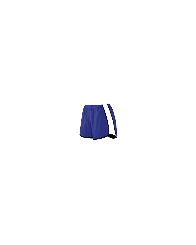 1265 Augusta Sportswear PURPLE/ WHT/ BLK