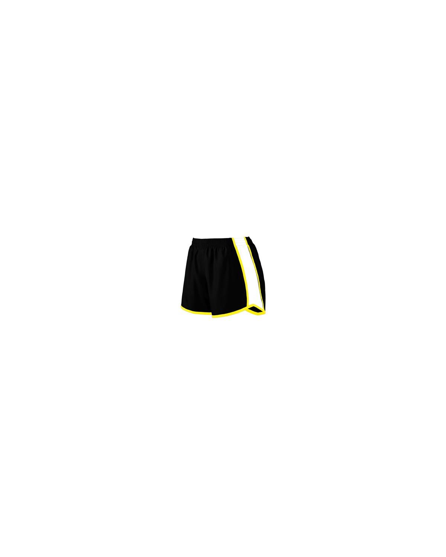 1265 Augusta Sportswear BLK/ WH / PW YLW
