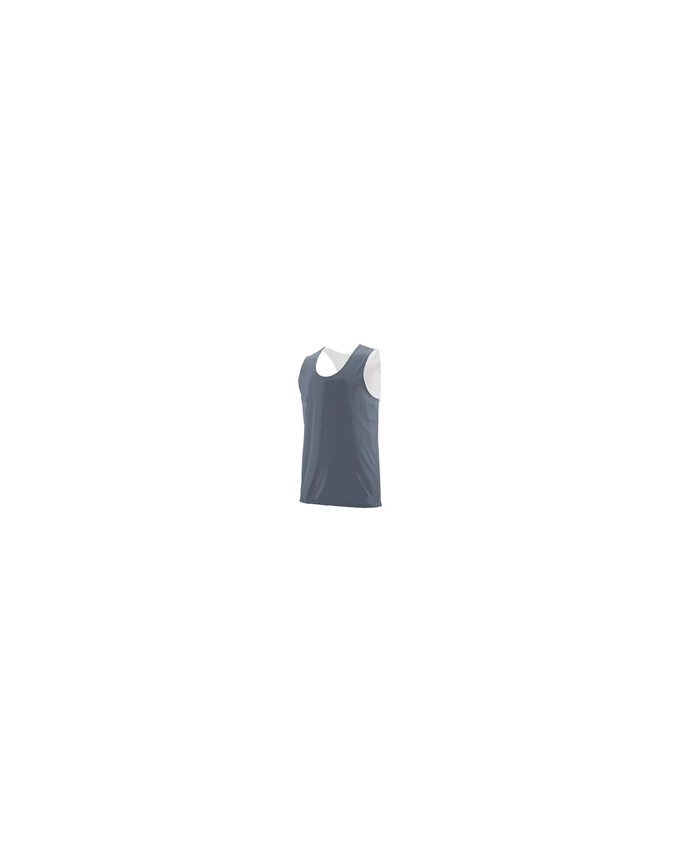 148 Augusta Sportswear GRAPHITE/ WHITE
