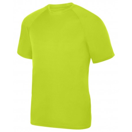 2790 Augusta Sportswear 2790 Adult Attain Wicking Short-Sleeve T-Shirt LIME