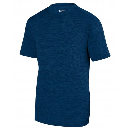 2900 Augusta Sportswear 2900 Adult Shadow Tonal Heather Short-Sleeve Training T-Shirt NAVY