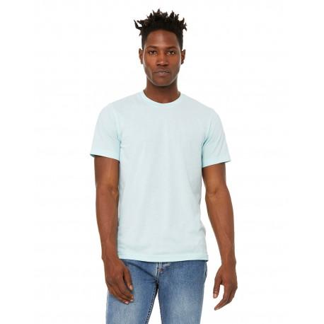 3301C Bella + Canvas 3301C Unisex Sueded T-Shirt HEATHER ICE BLUE