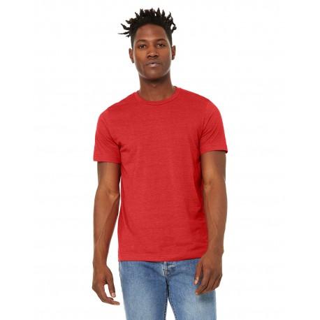 3301C Bella + Canvas 3301C Unisex Sueded T-Shirt HEATHER RED