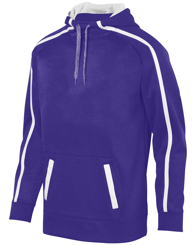 5554 Augusta Sportswear PURPLE/ WHITE