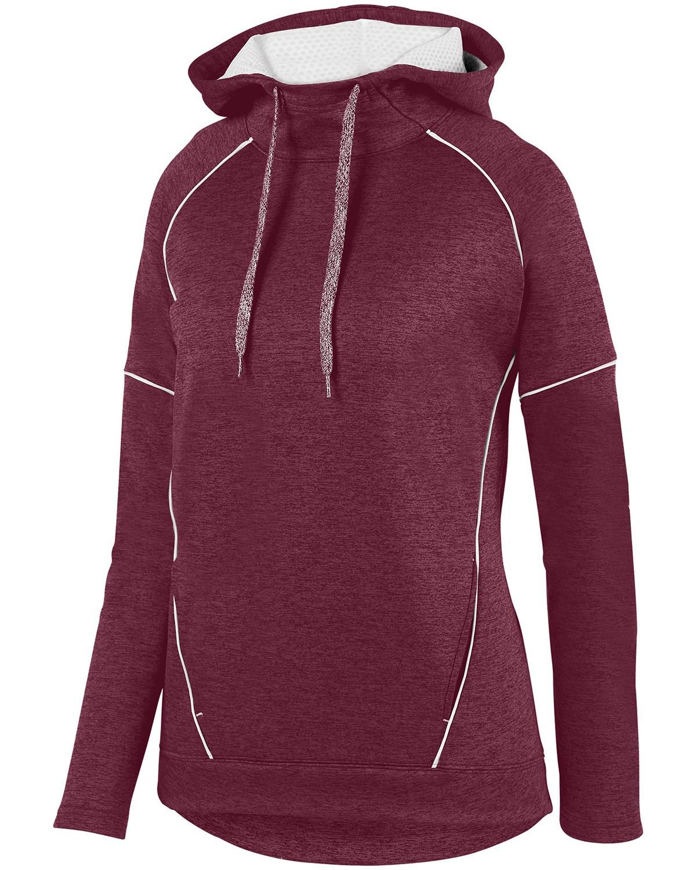 5556 Augusta Sportswear MAROON/ WHITE