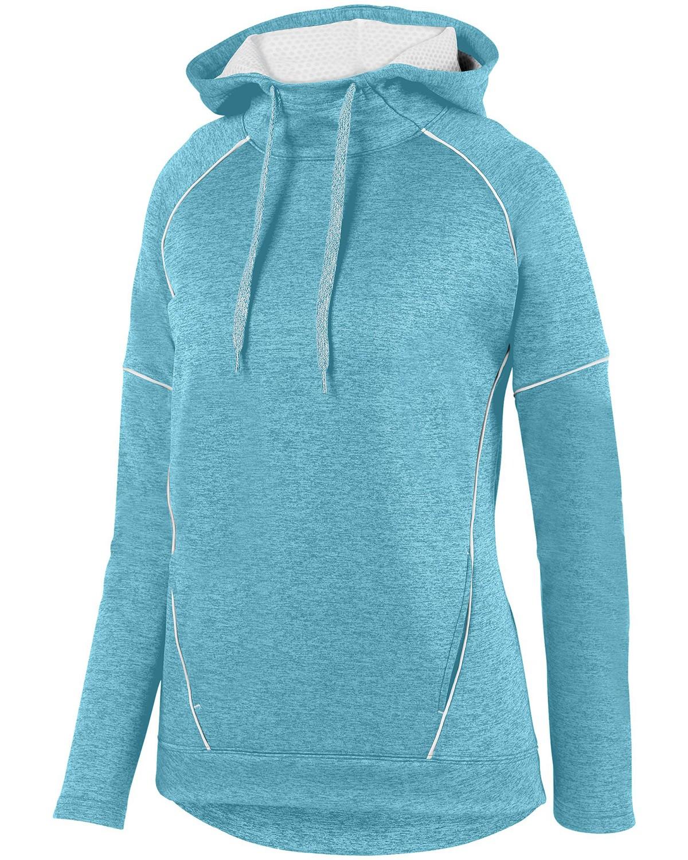 5556 Augusta Sportswear AQUA/ WHT