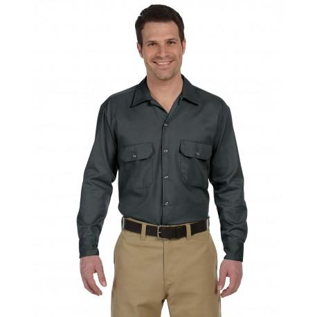 574 Dickies 574 Unisex Long-Sleeve Work Shirt CHARCOAL