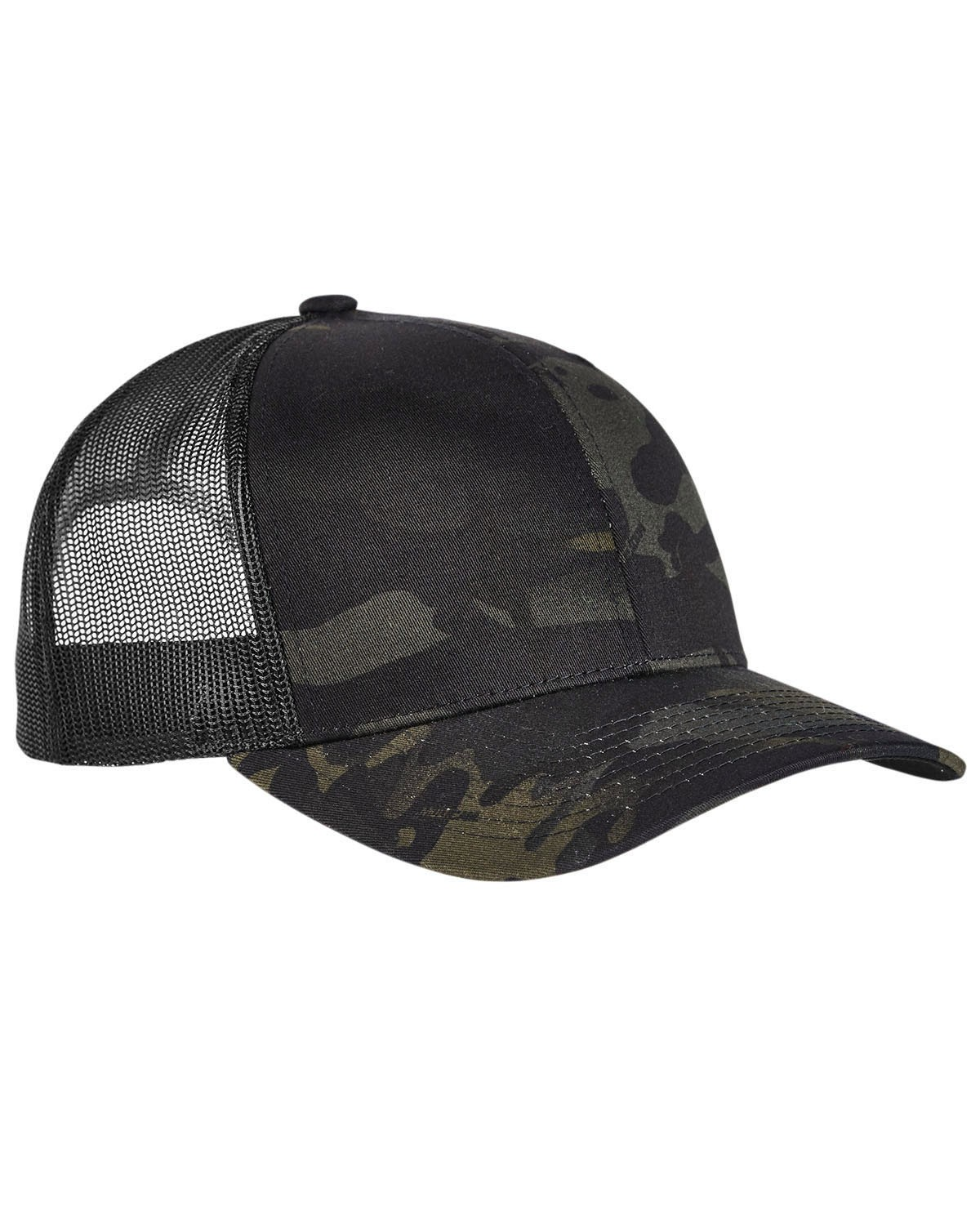 6006MC Yupoong BLACK MULTICAM