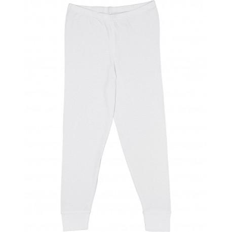 612Z LAT 612Z Youth Baby Rib Pajama Pant WHITE