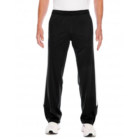 TT44 Team 365 TT44 Men's Elite Performance Fleece Pant BLACK/WHITE