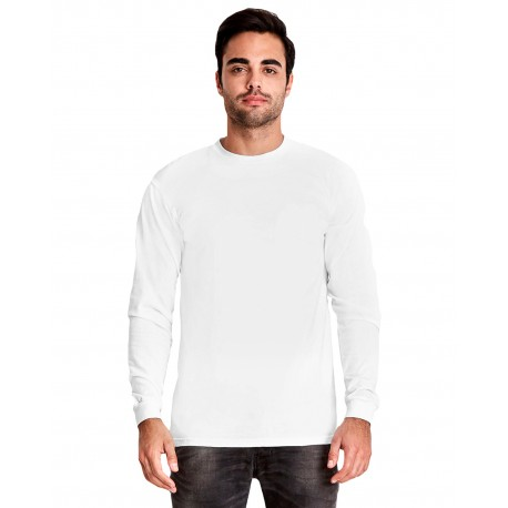 7401S Next Level 7401S Adult Power T-Shirt WHITE