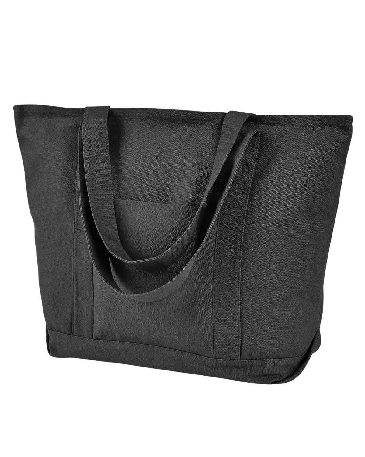 8879 Liberty Bags WASHED BLACK
