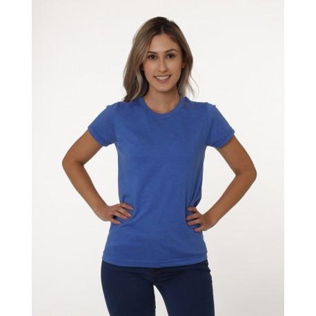 BA5810 Bayside BA5810 Ladies Triblend T-Shirt TRI DENIM