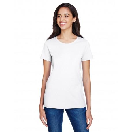 CP20 Champion CP20 Ladies Ringspun Cotton T-Shirt WHITE