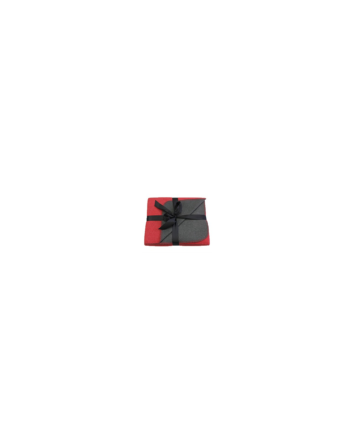 EURO Pro Towels RED/ GRAY