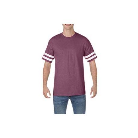 G500VT Gildan G500VT Heavy Cotton Adult Victory T-Shirt HTH MAROON/ WHT