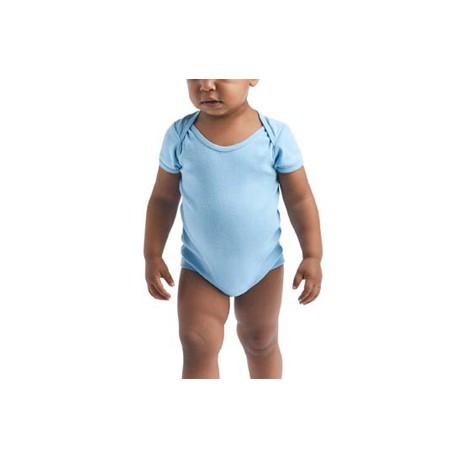 G64ZEE Gildan G64ZEE Softstyle Infant 5.5 oz One-Piece LIGHT BLUE