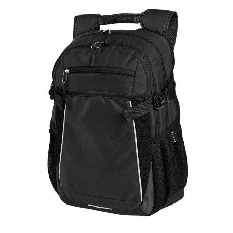 GL5186 Gemline GL5186 Pioneer Computer Backpack BLACK