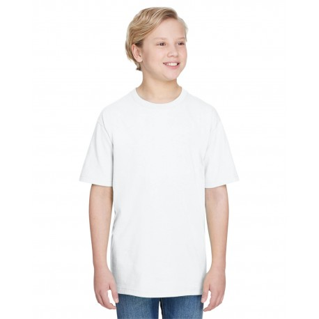 H000B Gildan H000B Youth Hammer T-Shirt WHITE