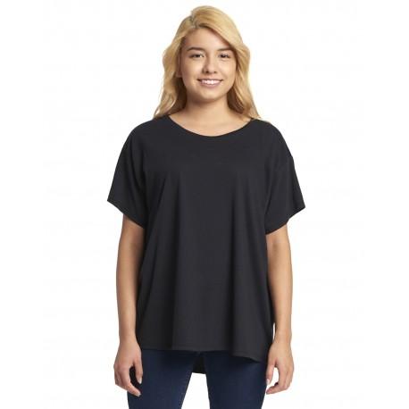 N1530 Next Level N1530 Ladies Ideal Flow T-Shirt BLACK
