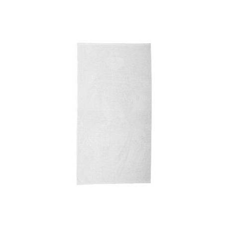 SUB2242 Pro Towels SUB2242 22x42 FOTO Vision Small Beach Towel WHITE