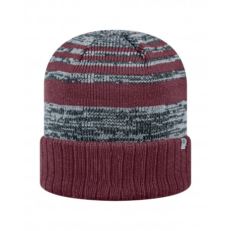 TW5000 Top Of The World TW5000 Adult Echo Knit Cap BURGUNDY