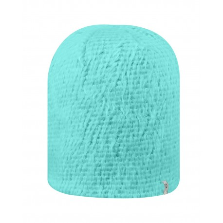 TW5004 Top Of The World TW5004 Adult Fluffy Monster Knit Cap TIFF BLUE