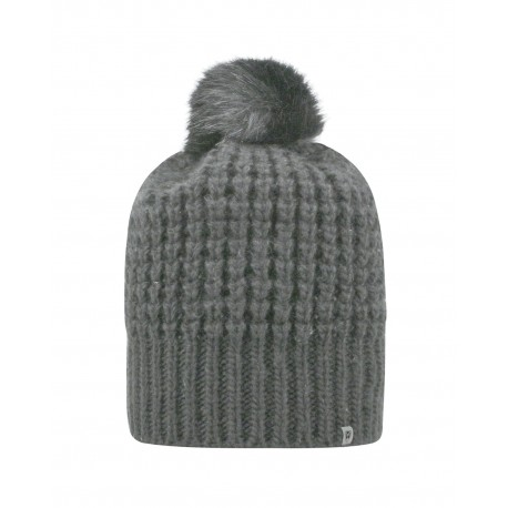 TW5005 Top Of The World TW5005 Adult Slouch Bunny Knit Cap GREY