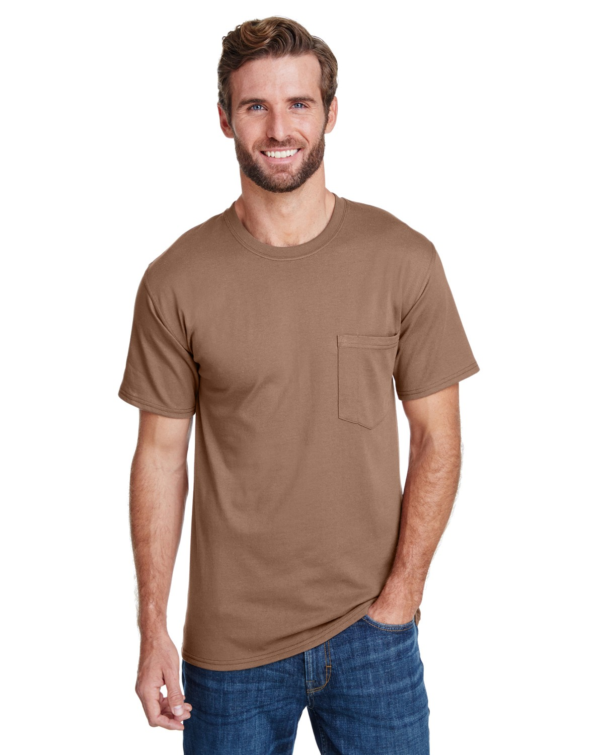 W110 Hanes ARMY BROWN